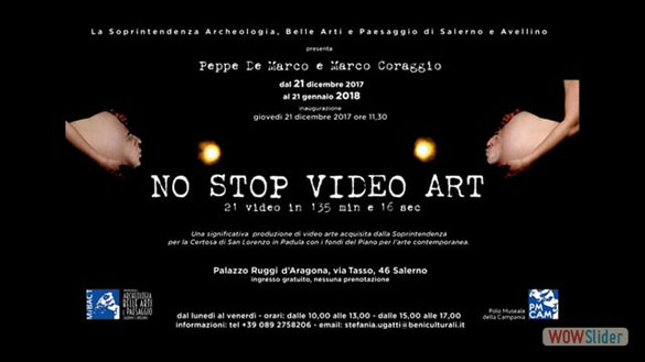 2017/2018 | NO STOP VIDEO ART | Trailer