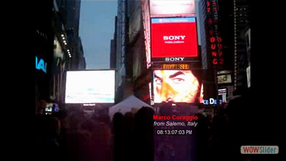 2012 | ART TAKES TIMES SQUARE - NYC, USA